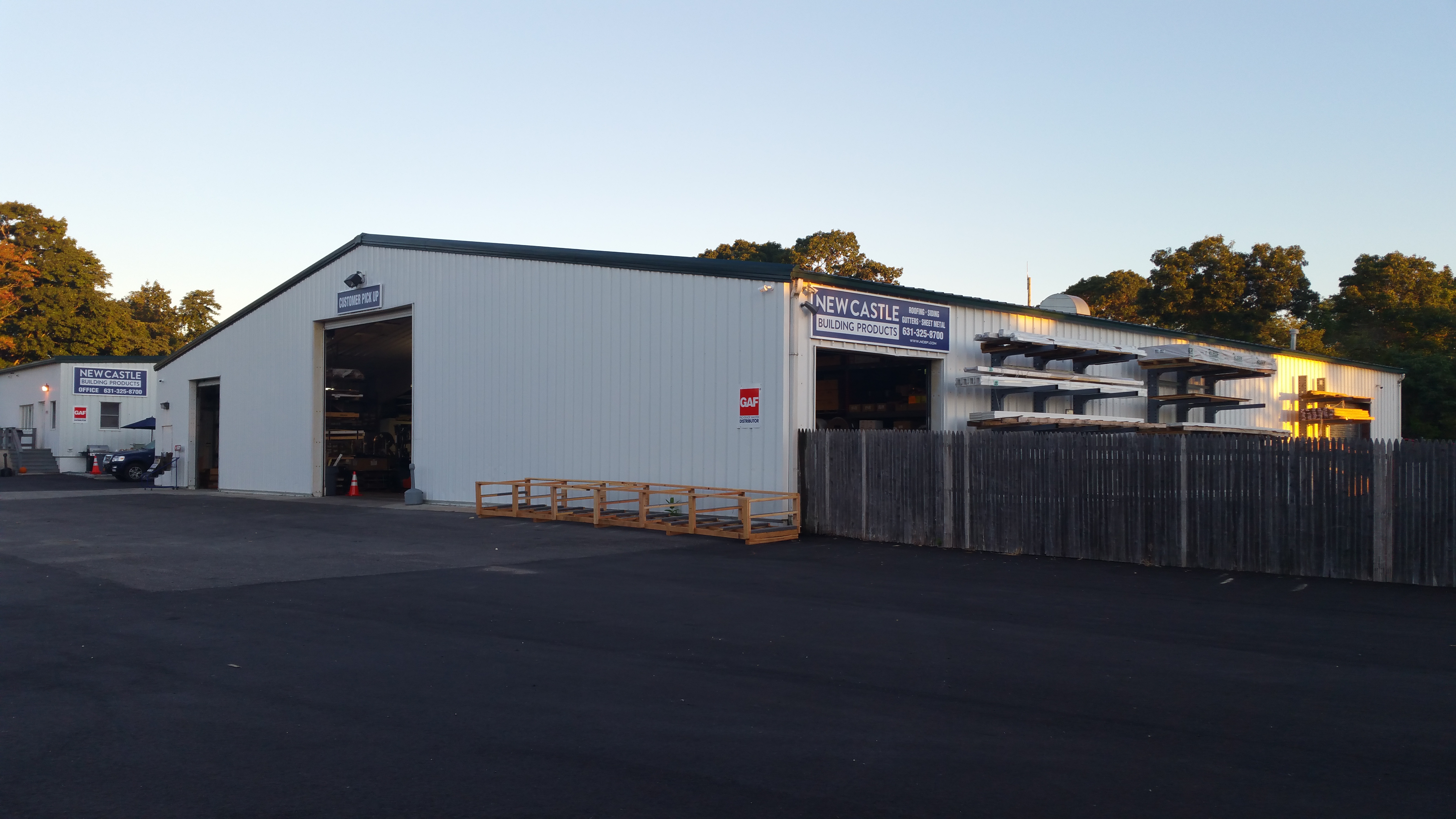 New Castle Building Products Eastport Ny Location