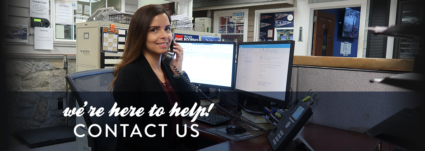 We're here to help! Contact Us