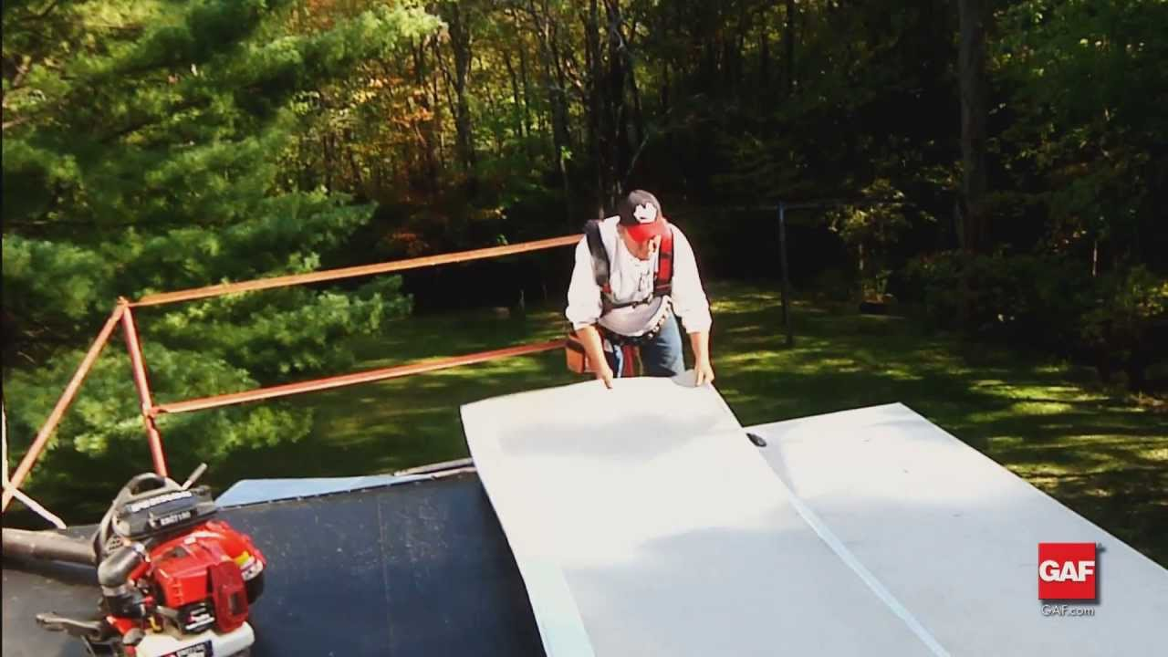 Gaf Liberty Low Slope Roofing System Installation