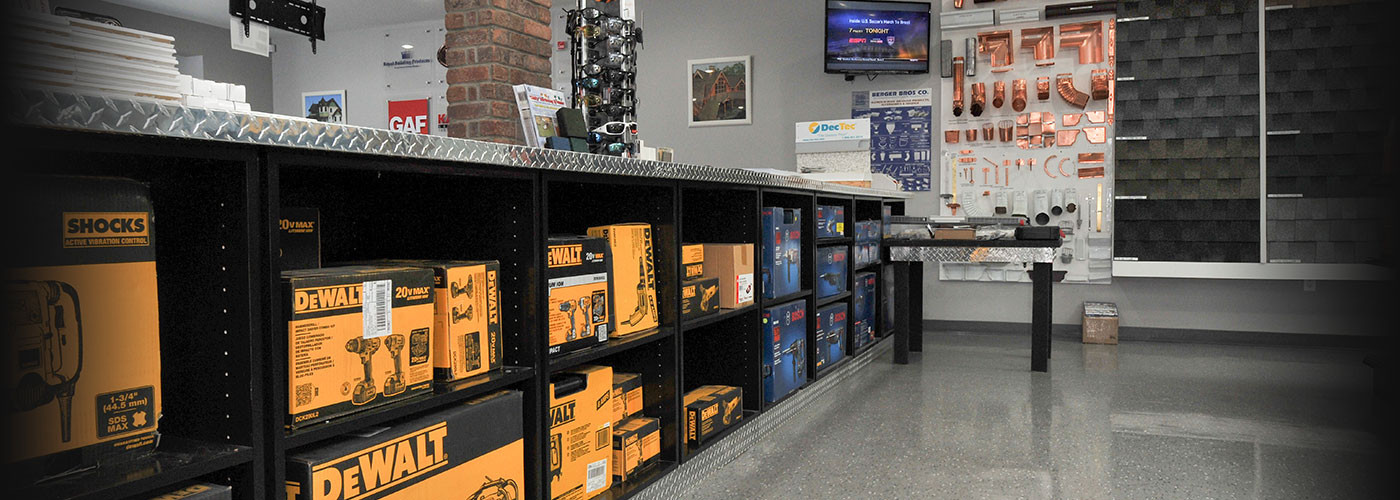 DeWalt products available from New Castle Building Products
